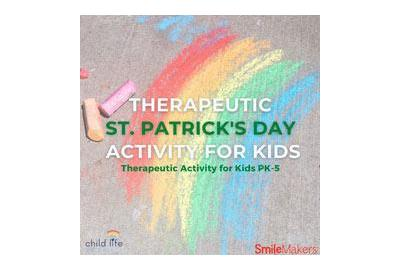 A Fun, Expressive Activity Kids for St. Patrick's Day