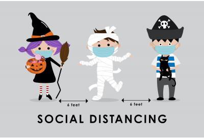 Preparing for a COVID-Safe Halloween: Making Good Clean Fun