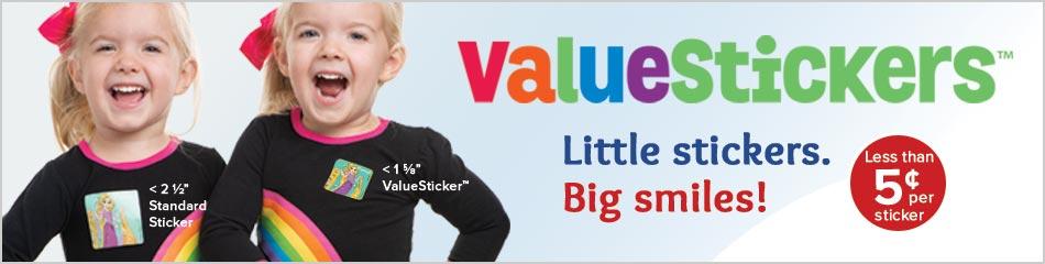 New ValueStickers