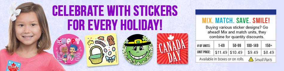 Halloween Stickers banner