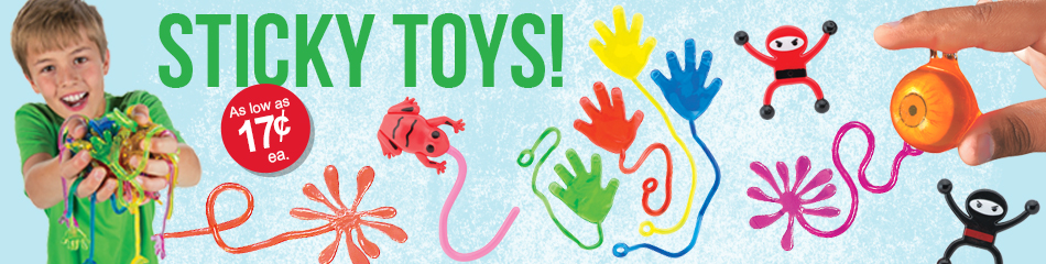 Sticky Toys banner