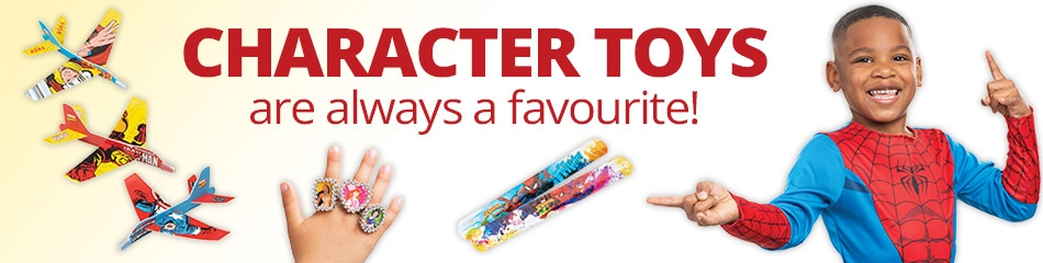 Character Toys banner