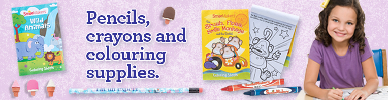 Pencils & Colouring banner