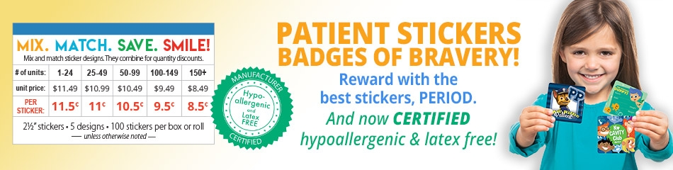 Patient Stickers banner
