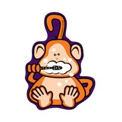 Brush Floss Smile Monkeys