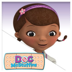Doc McStuffins Stickers