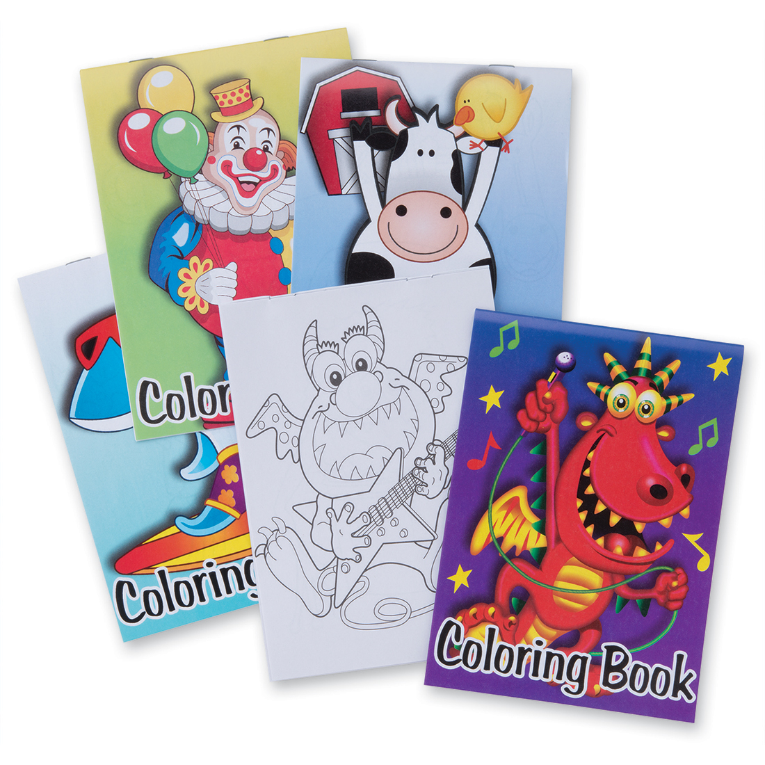Crayons & Coloring Books