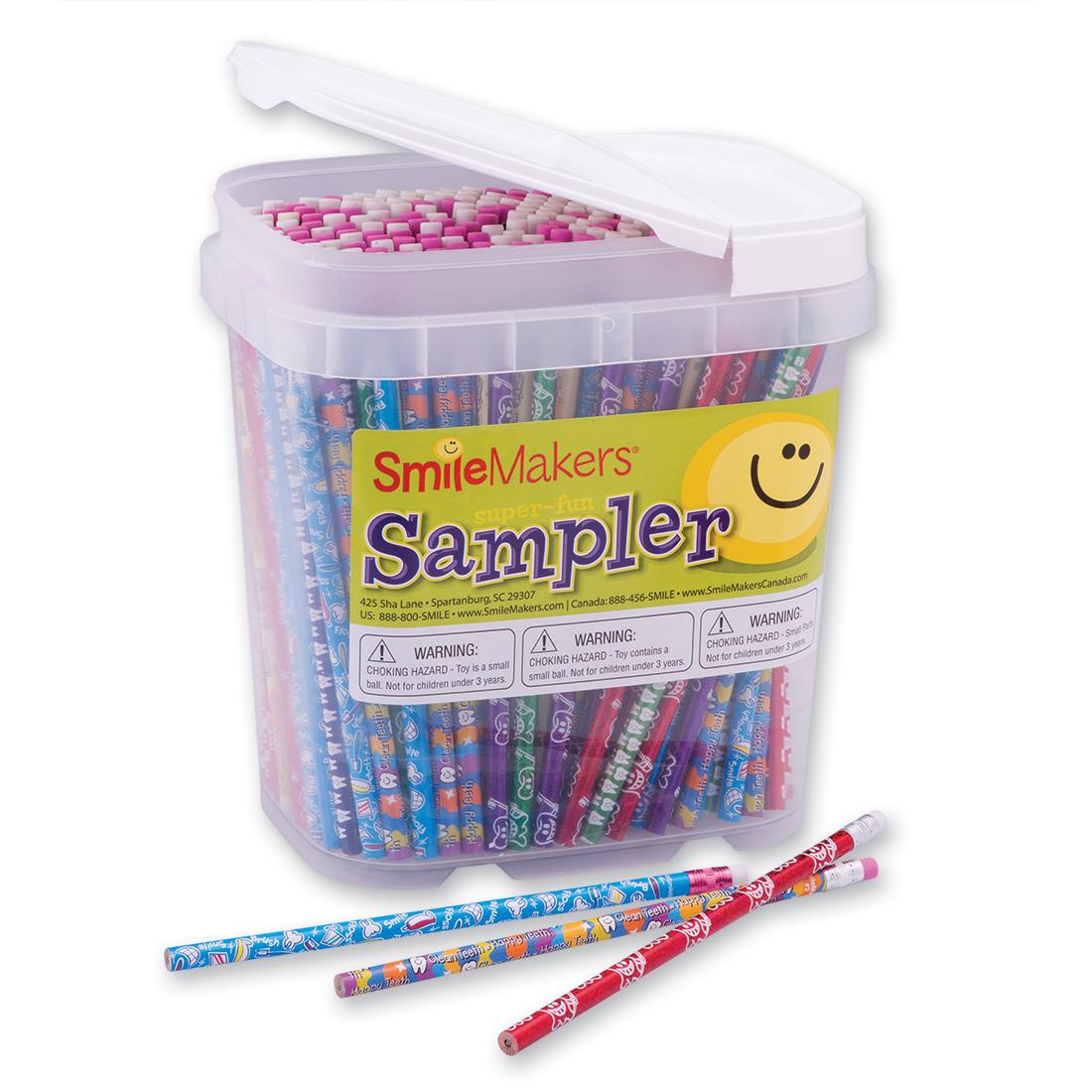 Pencil Samplers