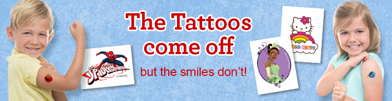 Temporary Tattoos banner