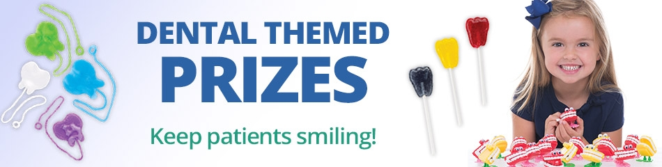 Dental Themed Prizes banner