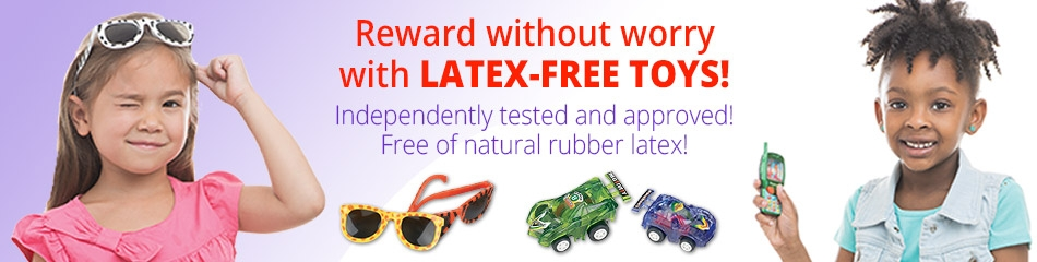 Latex Free Toys banner