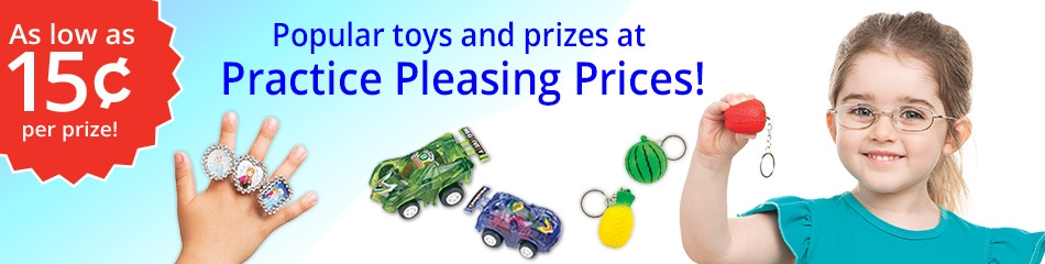 Toys & Prizes banner