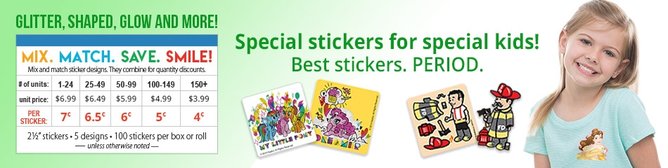 Scratch 'N Sniff Stickers banner