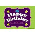 Birthday Recall Cards