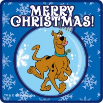 Scooby-Doo Holiday Stickers