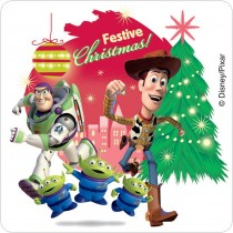 Toy Story 3 Christmas Stickers