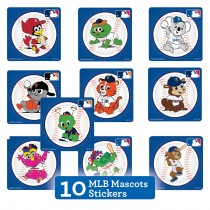 MLB Mascots Sticker Sampler
