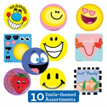 Smiley Sticker Sampler