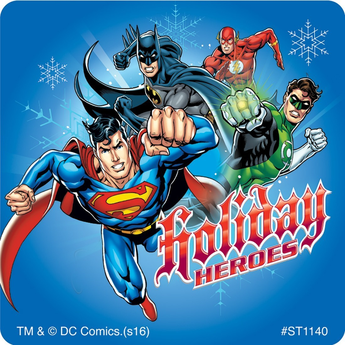 Justice League Christmas Stickers [image] Slider image-0 Slider image-1 Slider image-2 ...