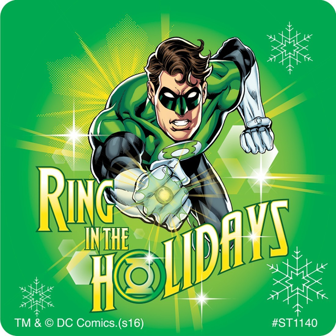 Justice League Christmas Stickers - Stickers from SmileMakers