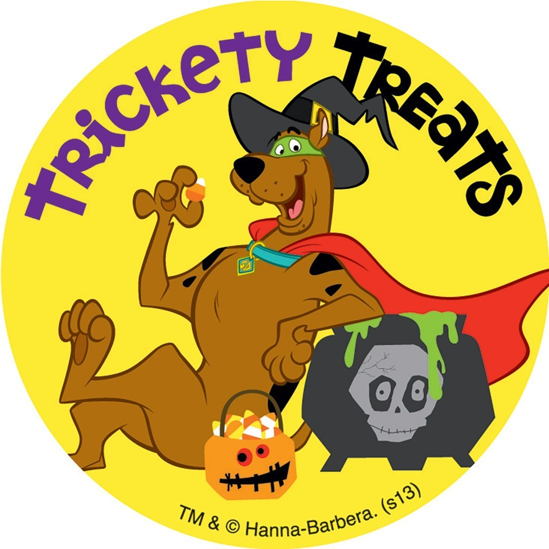Halloween Scooby Doo Stickers - from SmileMakers