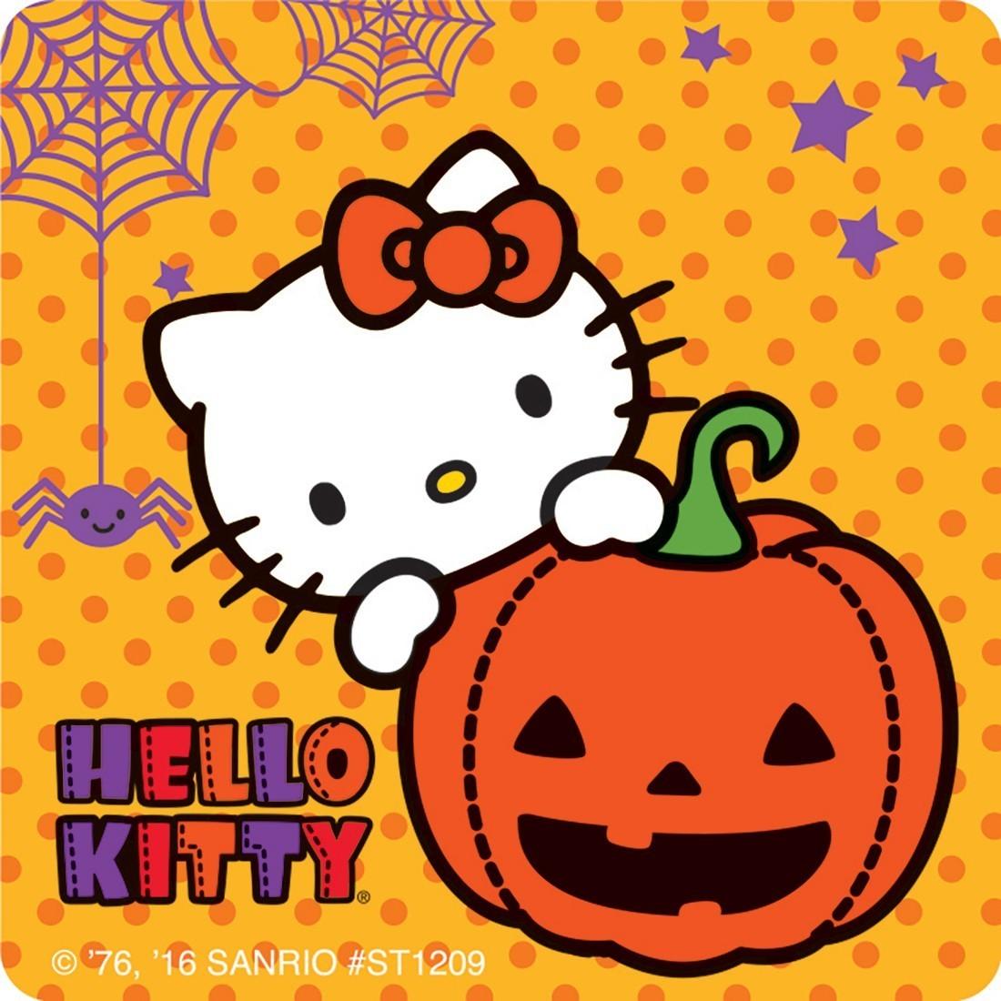 75 hello kitty halloween stickers