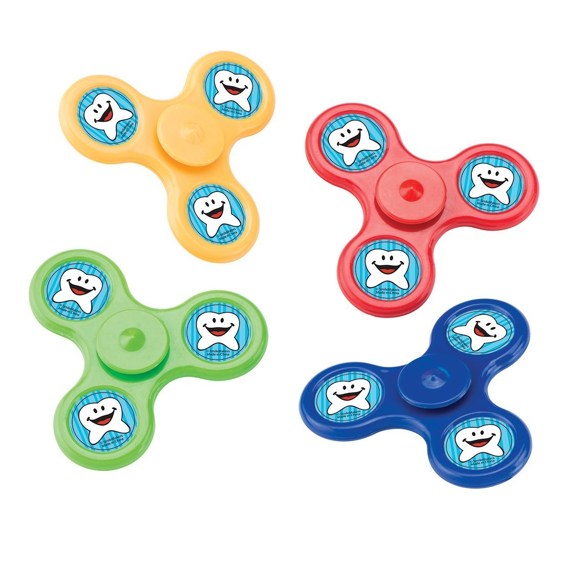 Happy Tooth Fidget Spinners  [image]