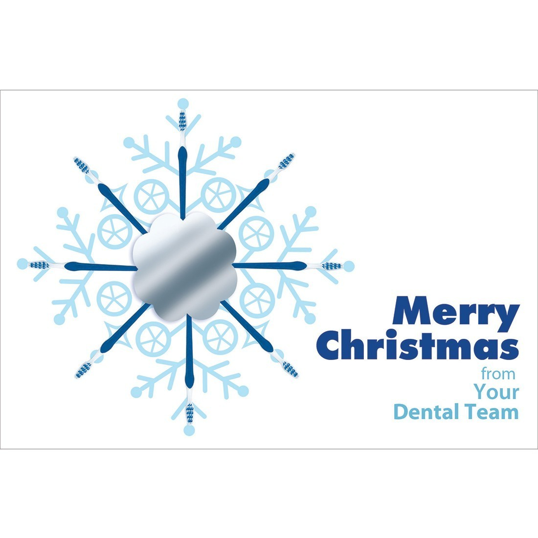 Dental Team Merry Christmas Greeting Cards - SmileMakers