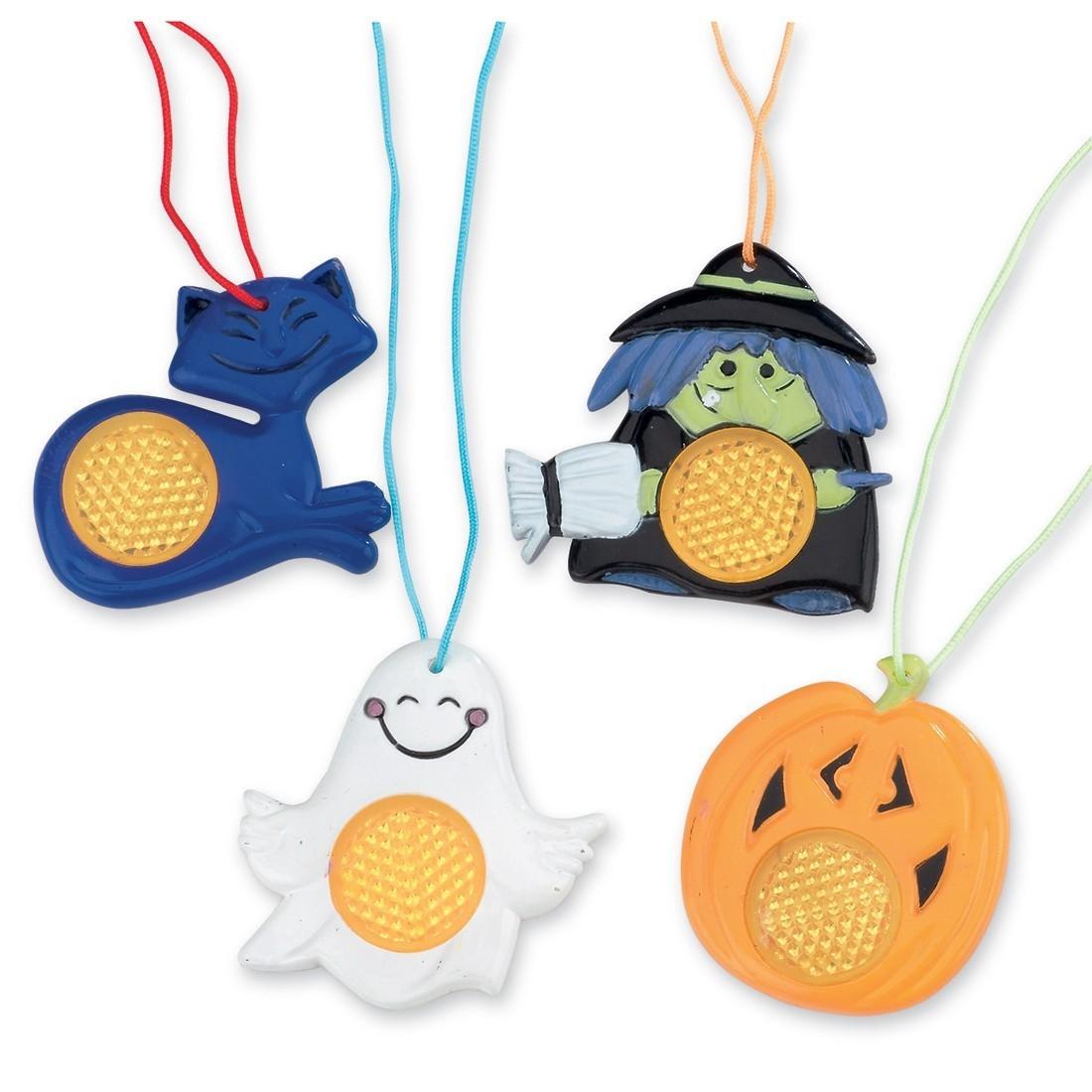 Halloween Reflective Necklaces [image]