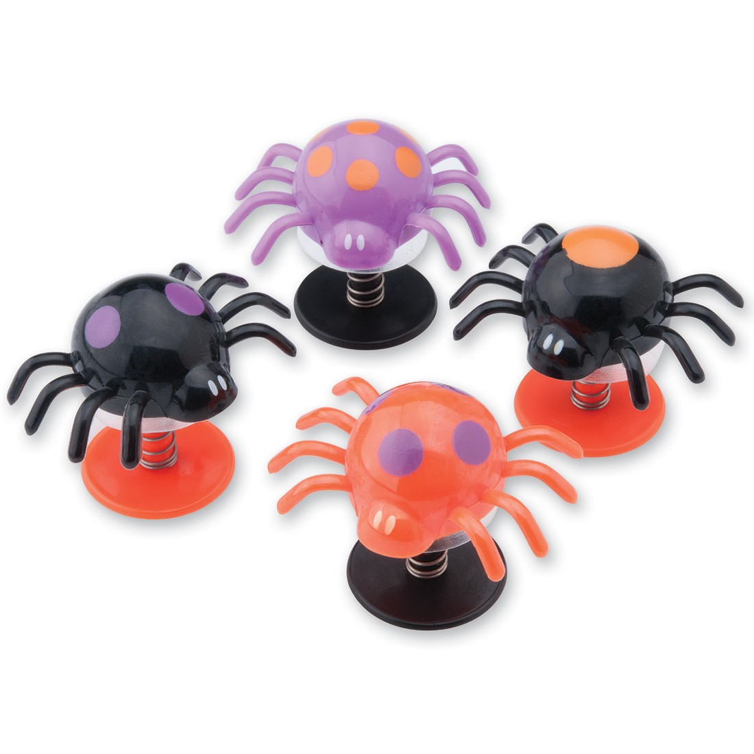 Halloween Jumping Spiders [image]