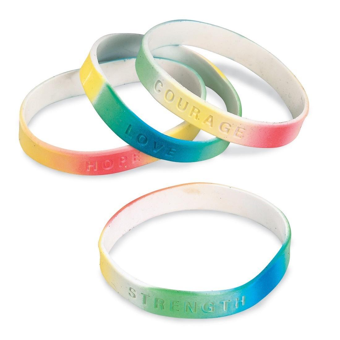 Tie Dye Power Bracelets [image]