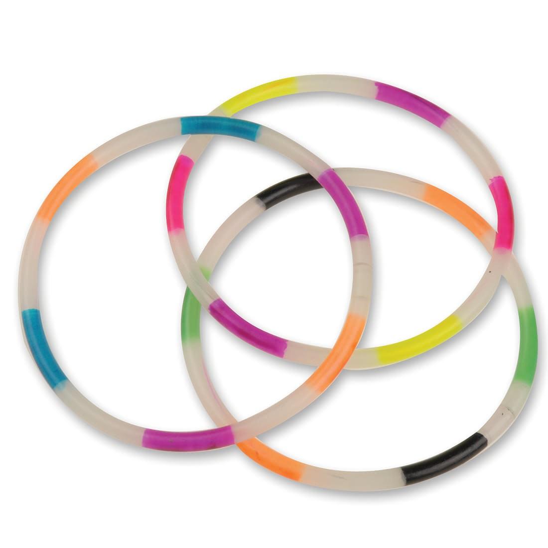 Glow in the Dark Rainbow Bracelets [image]