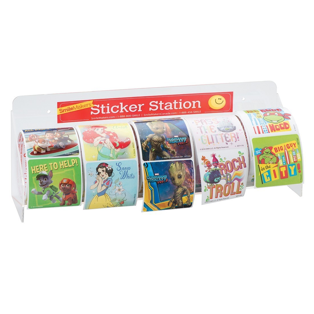Sticker Roll Rack [image]