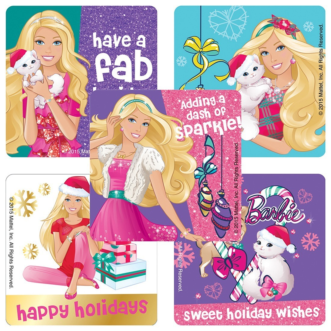 Barbie: Holidays Stickers [image]