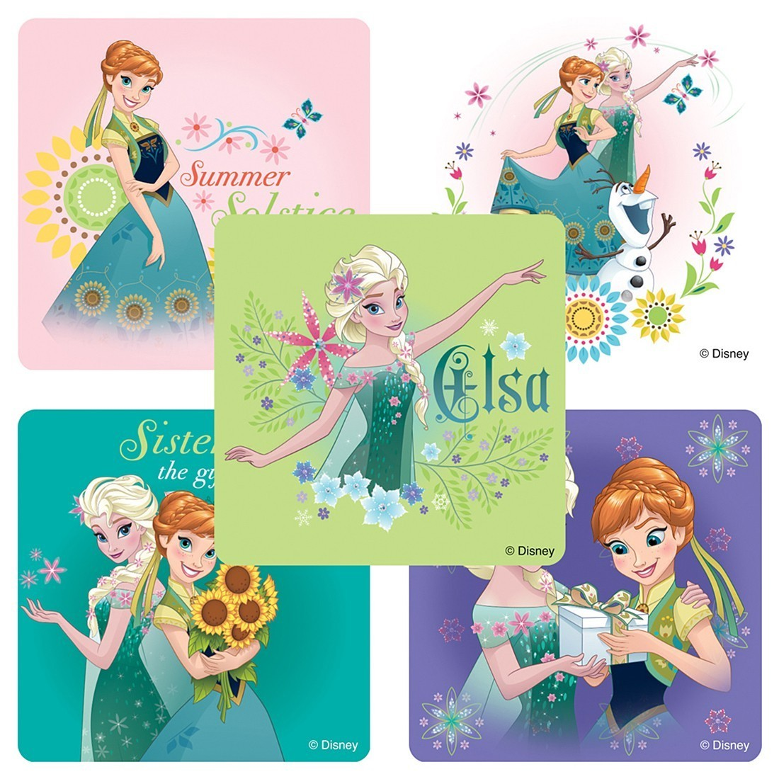 Frozen Fever Stickers [image]