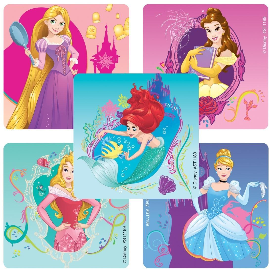 Disney Princess Enchanted Stickers [image]