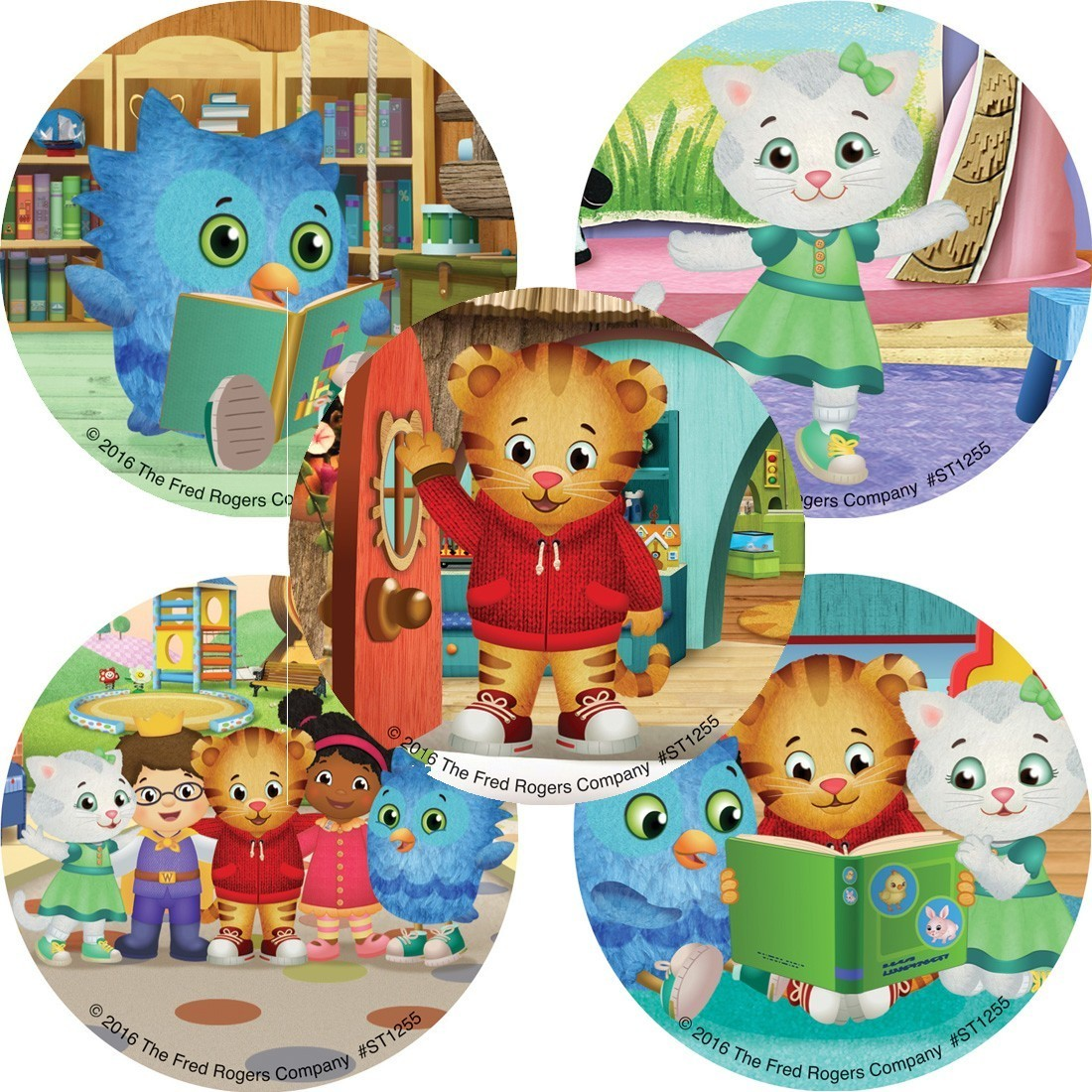 Daniel Tiger's Neighborhood Stickers  [image]