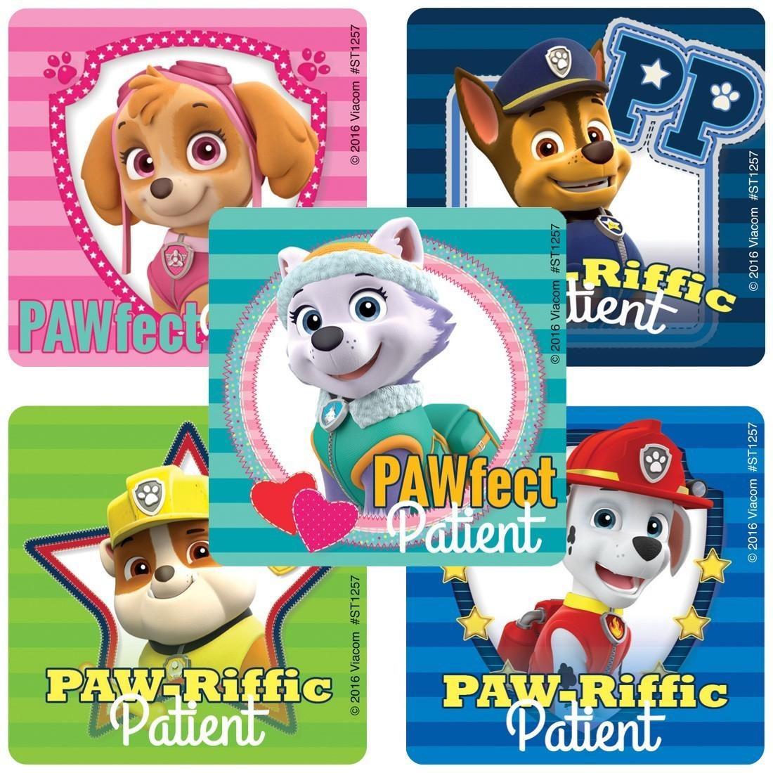 PAW Patrol Patient Stickers  [image]
