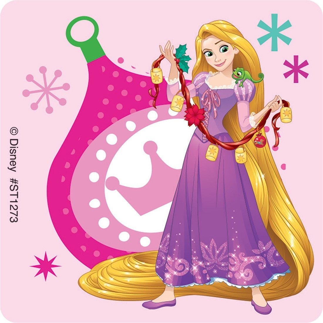 Disney Princess Christmas Stickers - Stickers from SmileMakers