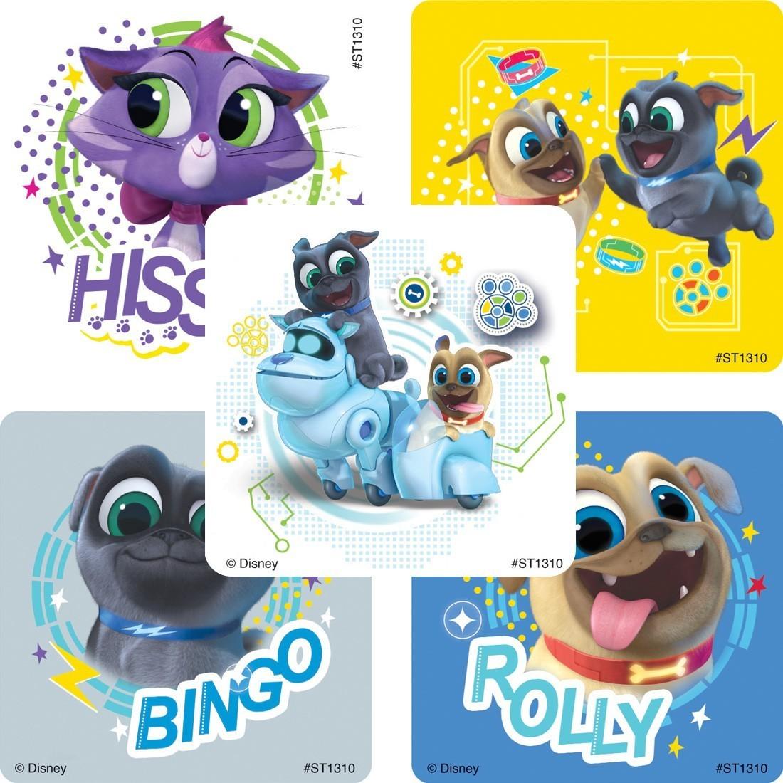 Puppy Dog Pals Stickers [image]