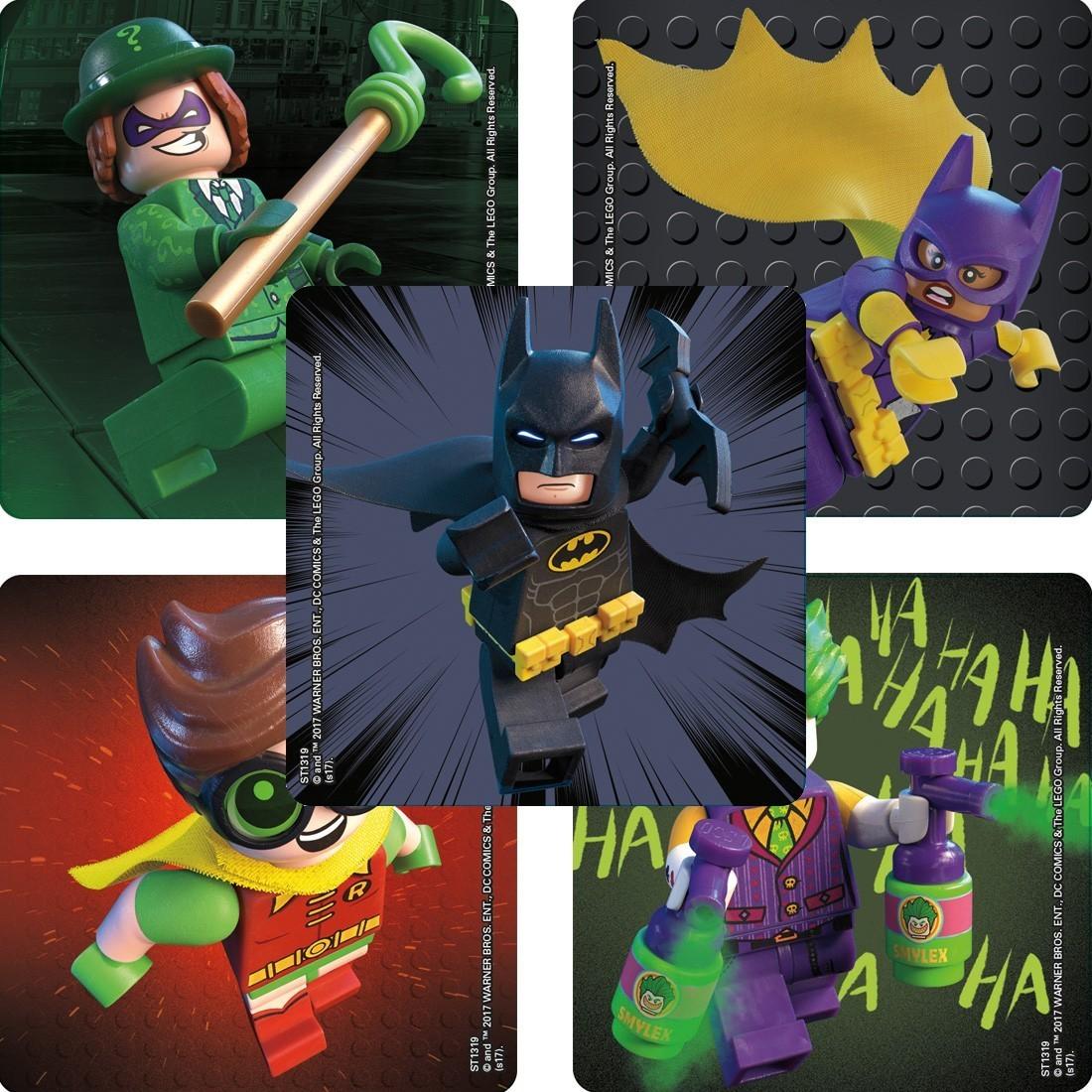 Lego Batman Movie Stickers [image]