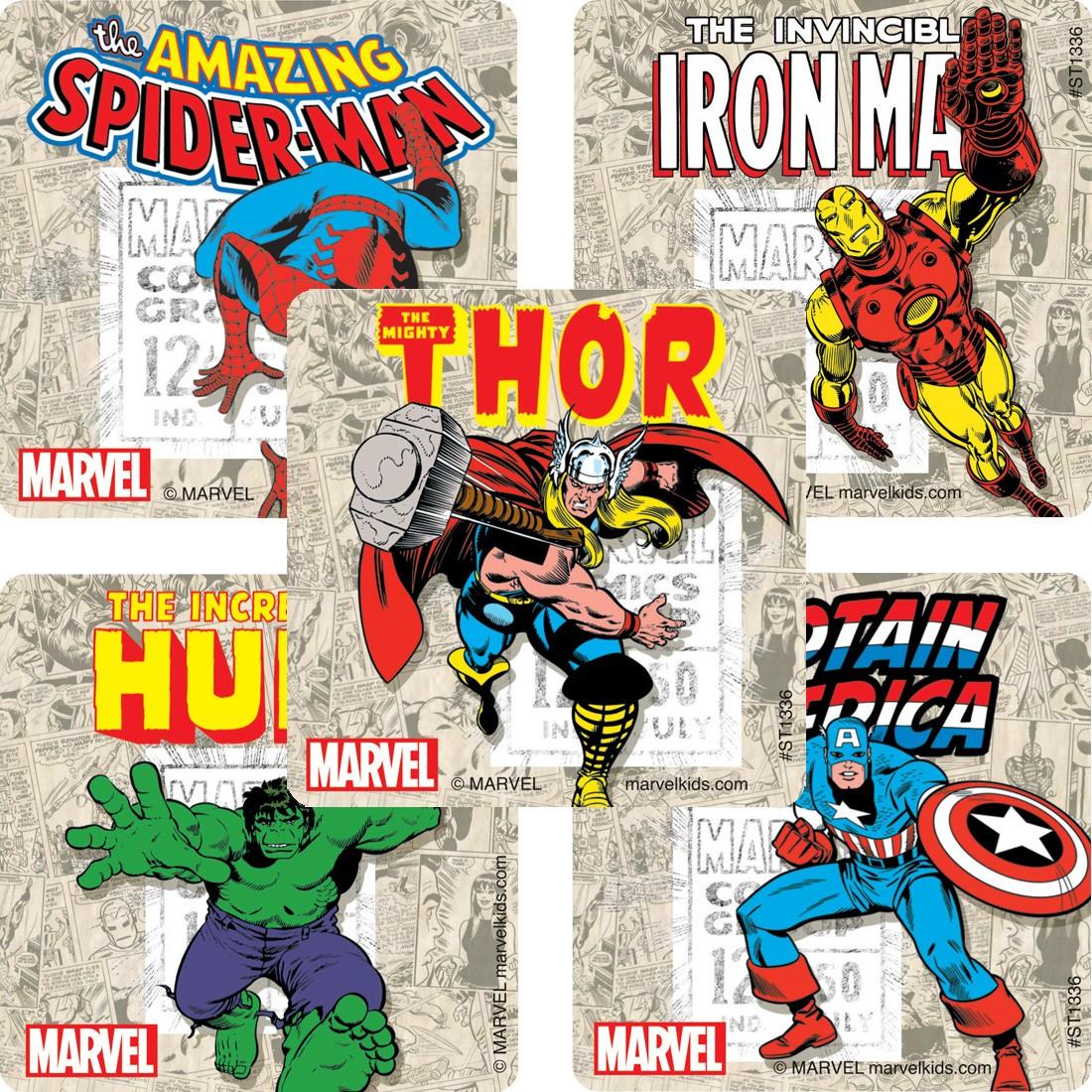 Marvel Comics Stickers [image]
