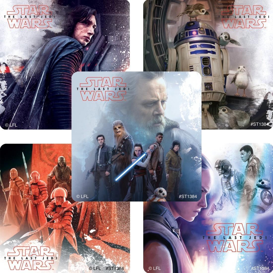 Star Wars: The Last Jedi Stickers [image]