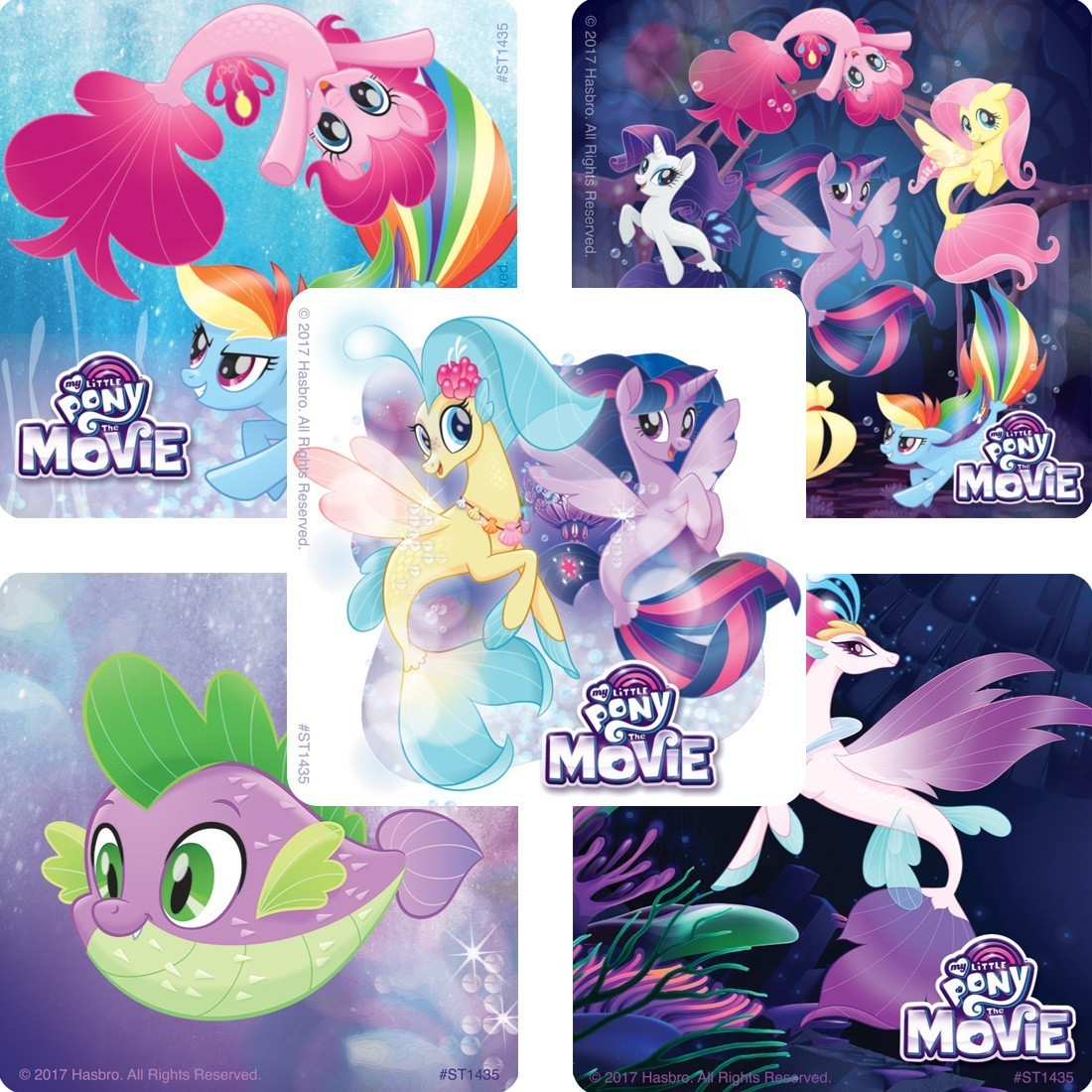 My Little Pony: The Movie Stickers [image]