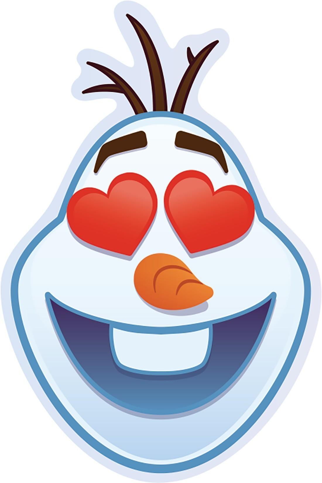 Disney Frozen Emoji Shaped Stickers [image]