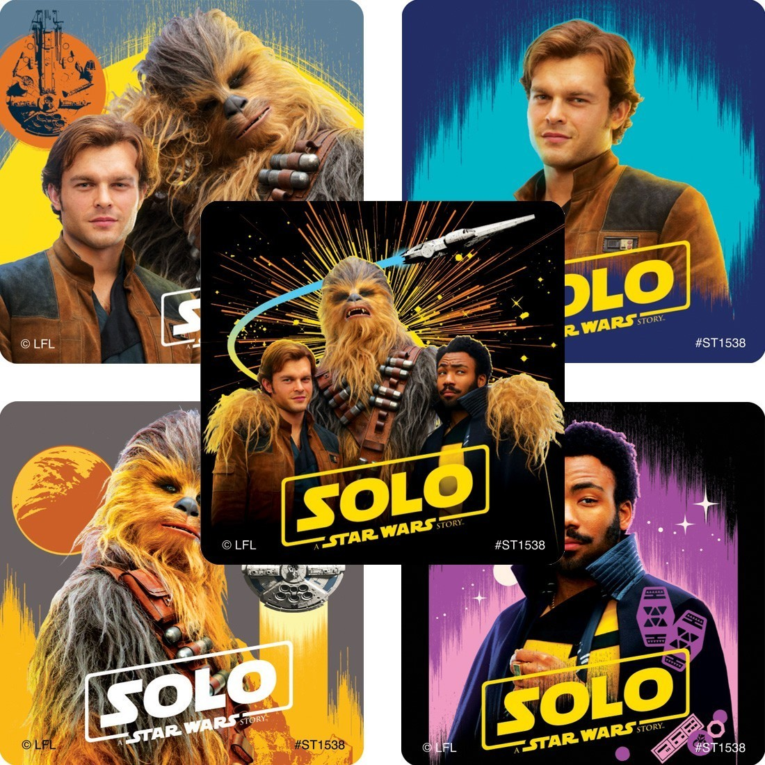 Solo: A Star Wars Story Movie Stickers [image]