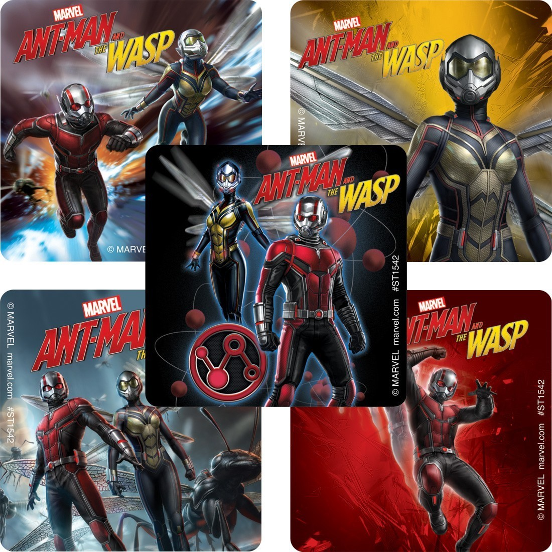 Marvel™ Ant Man & Wasp Movie Stickers [image]