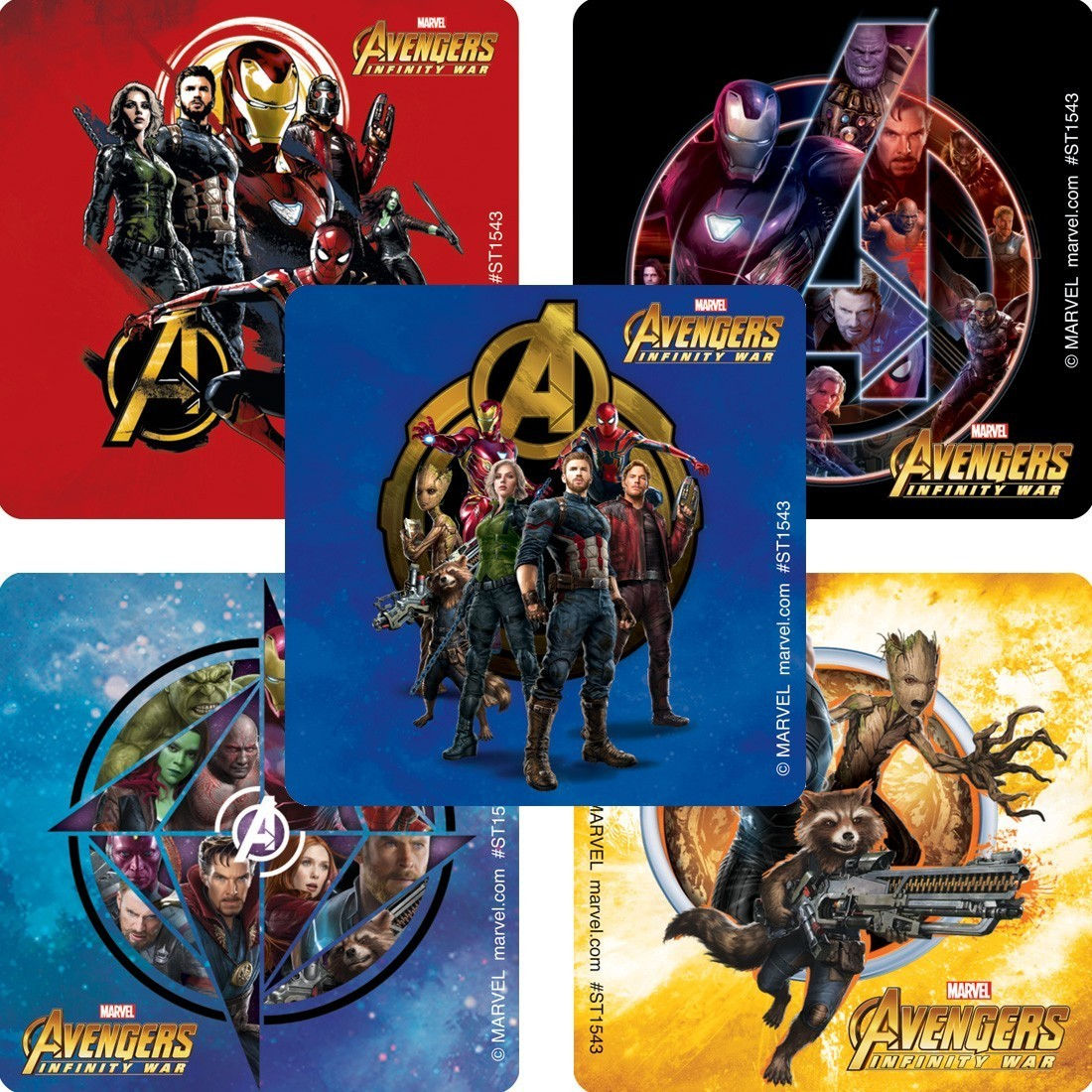 Avengers: Infinity War Stickers [image]