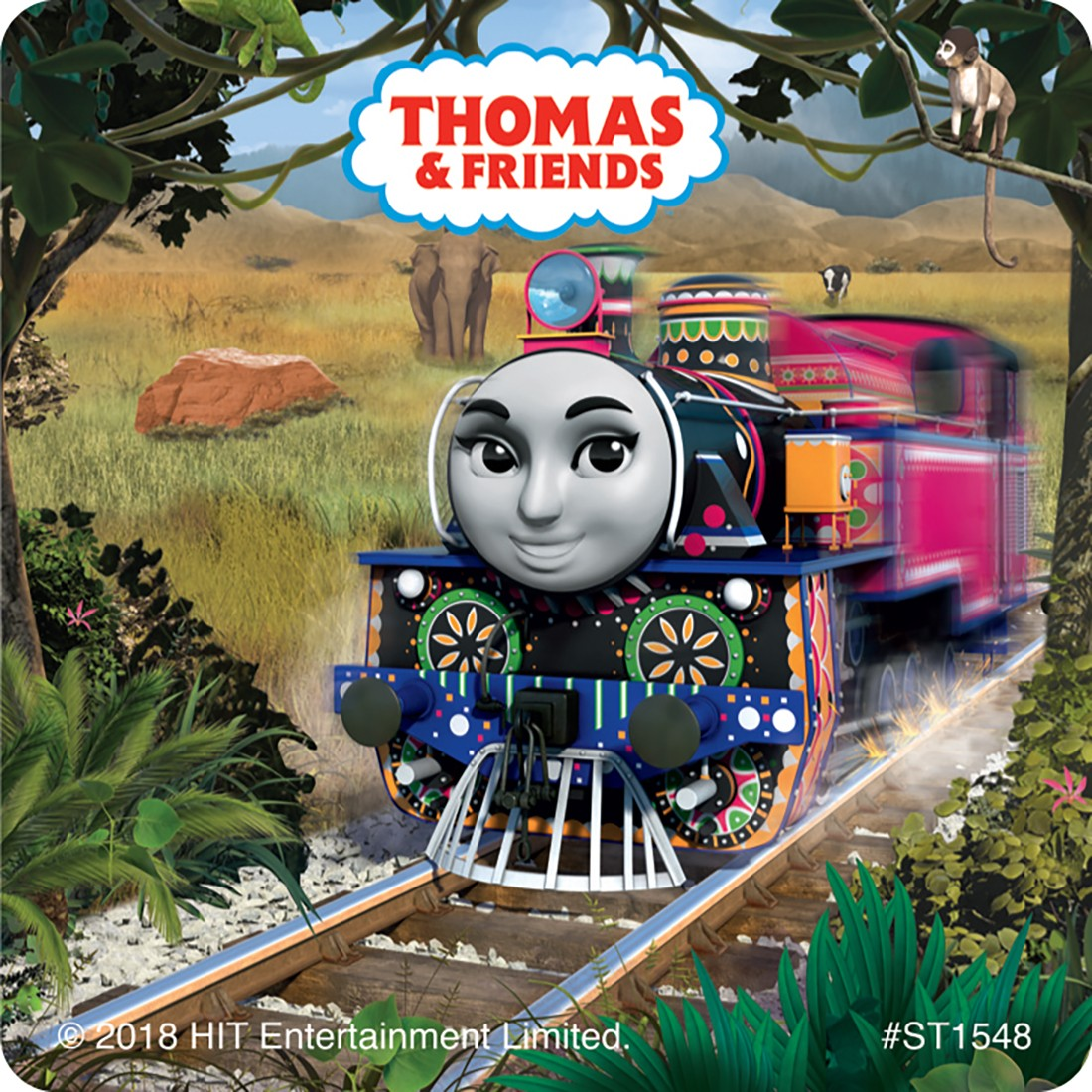 Thomas' Big World Adventure Movie Stickers [image]