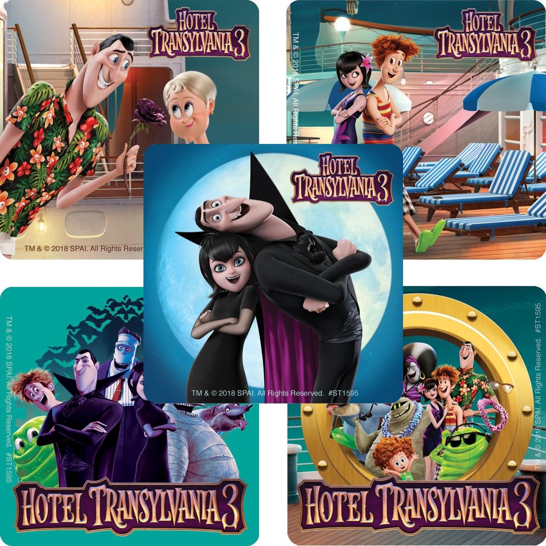 Hotel Transylvania 3 Stickers  [image]